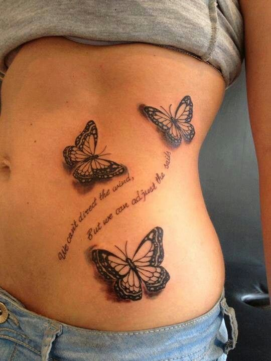 Get these nice butterfly tattoo ideas
