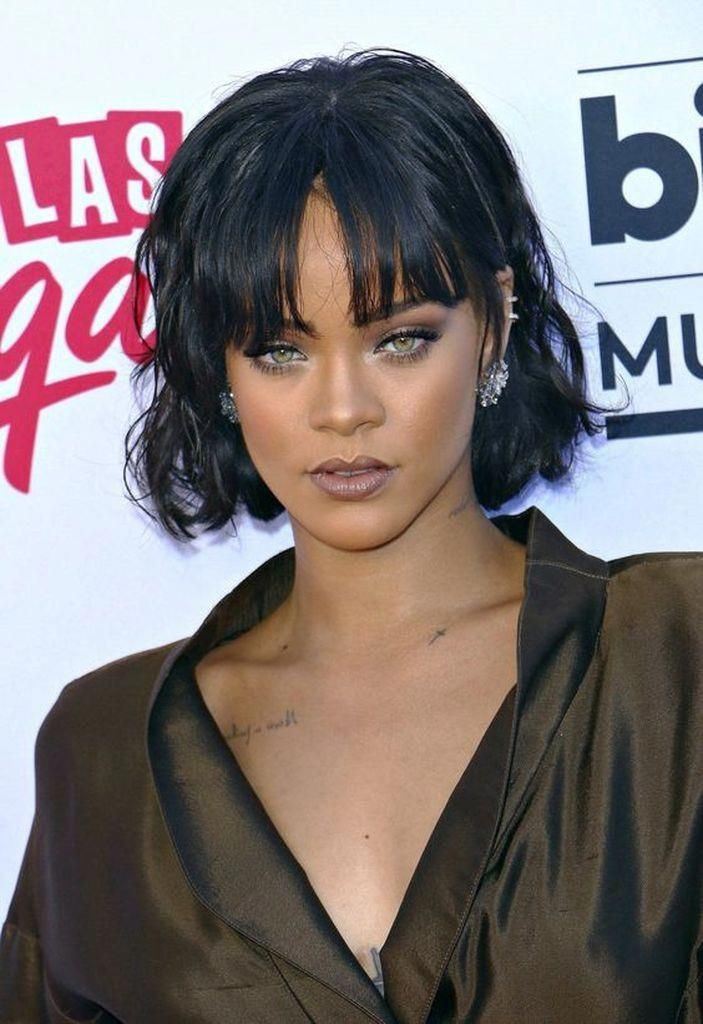 Hair rihanna billboard awards 2016, Bob cut