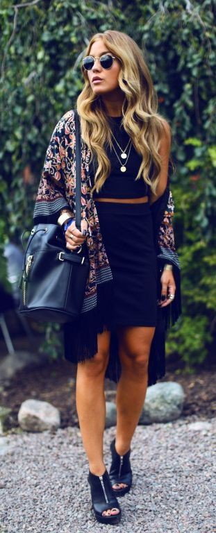 Not for all wear with kimono, Little black dress