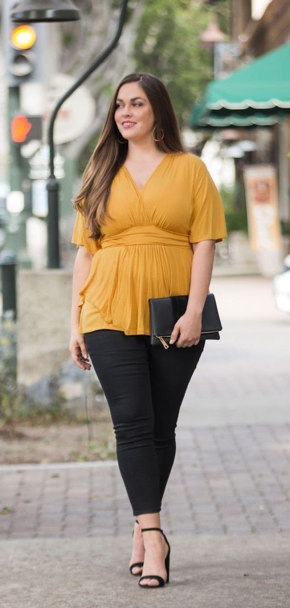 Lovely and adorable ideas for curvy girl fashion, Plus-size clothing