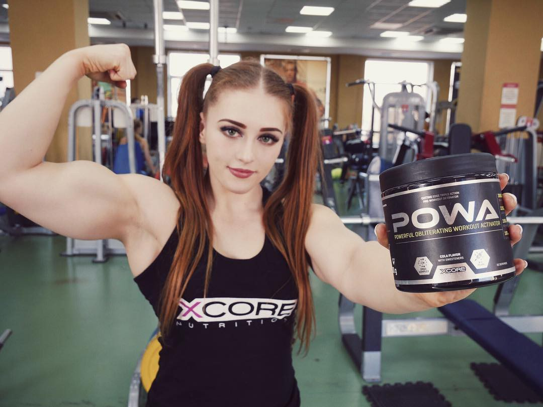 Wow! Gorgeous and stylish naturally strong girls, Julia Vins