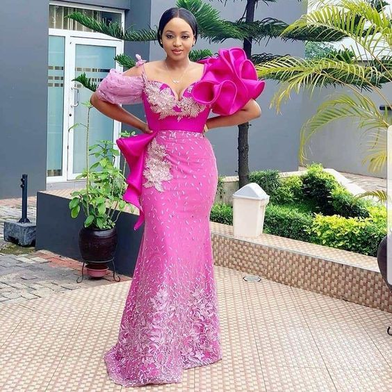 Aso Ebi Wedding dress Styles, Aso ebi