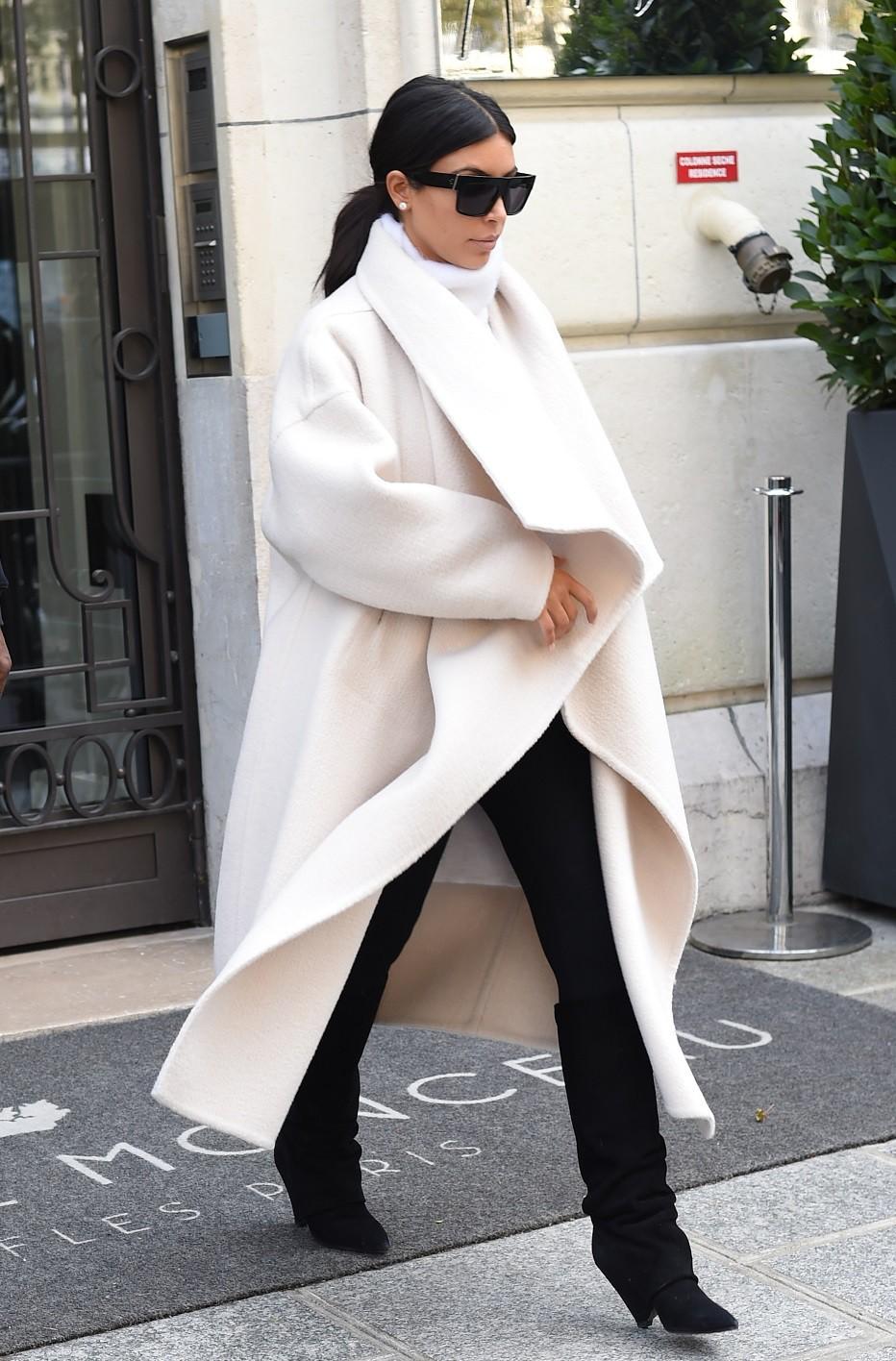 Kim kardashian winter style, Kim Kardashian