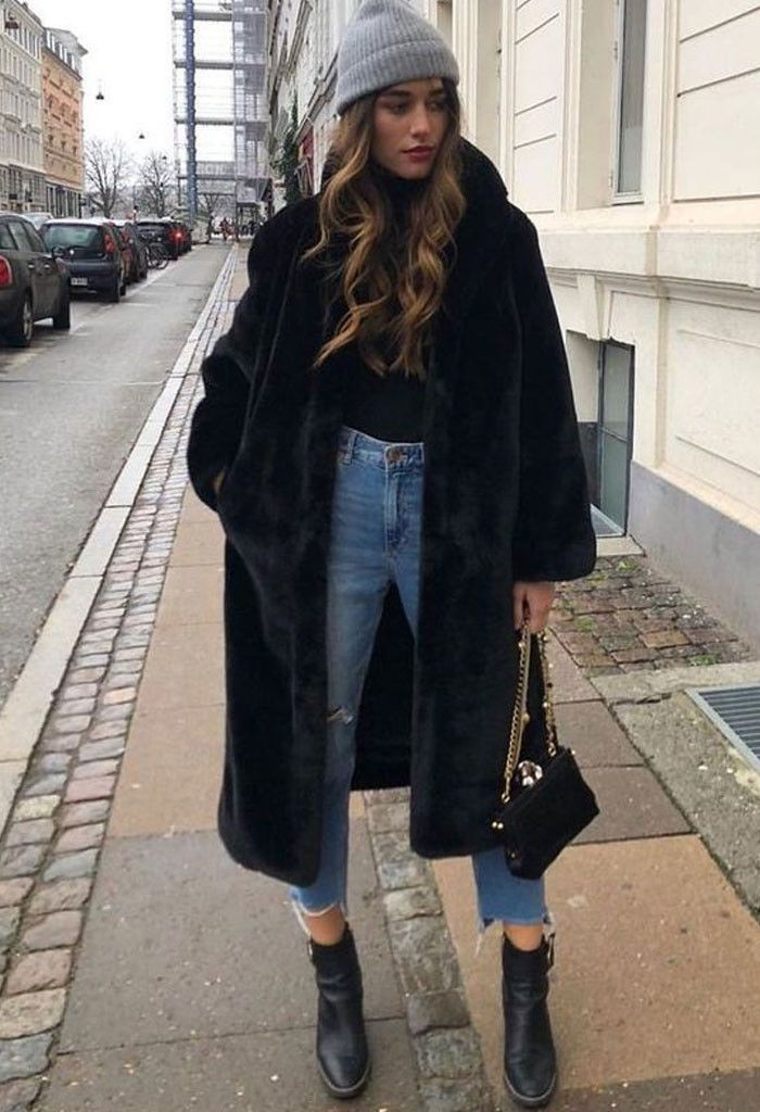 Outfits winter street style, Street fashion