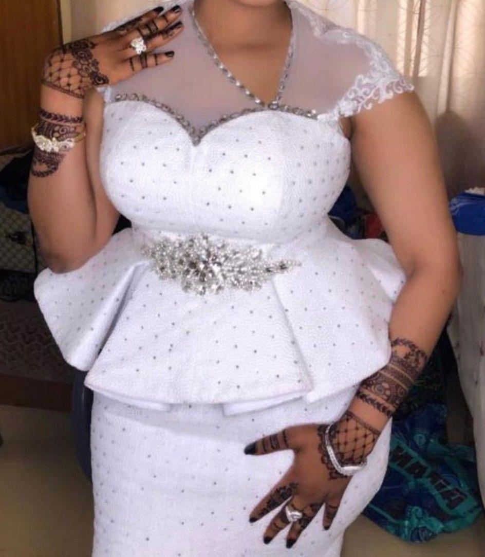 Latest Kaba And Slits Styles, Wedding dress, Aso ebi