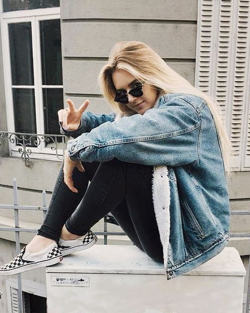 Vans slip on outfit, Casual wear