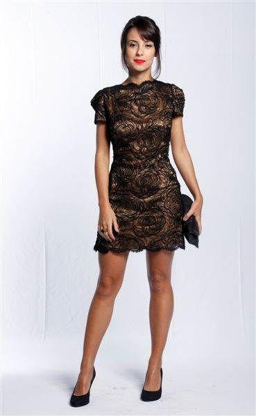 Vestido renda curto festa, Adelyn Rae