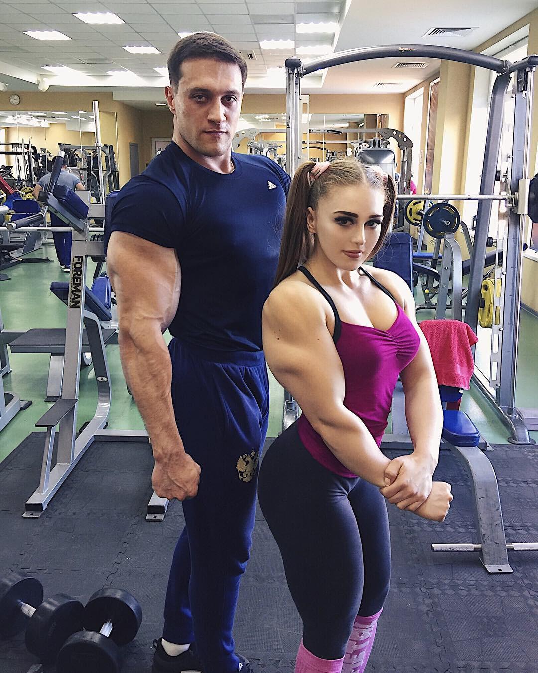 Julia Vins Bodybuilder, Julia Vins, Weight training