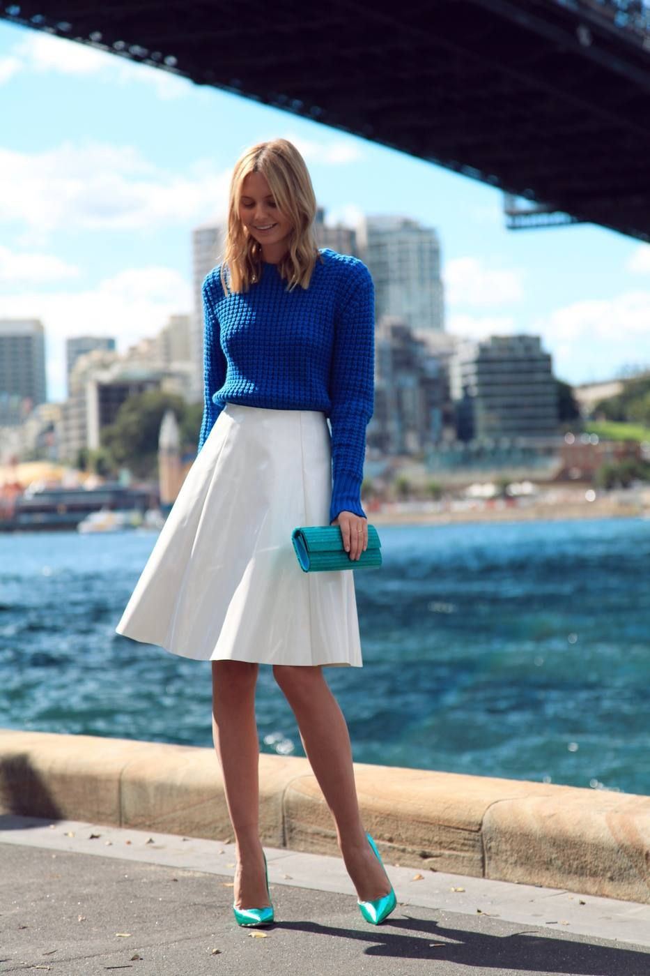 Outfits With White Skirt, Casual wear, High-heeled shoe
