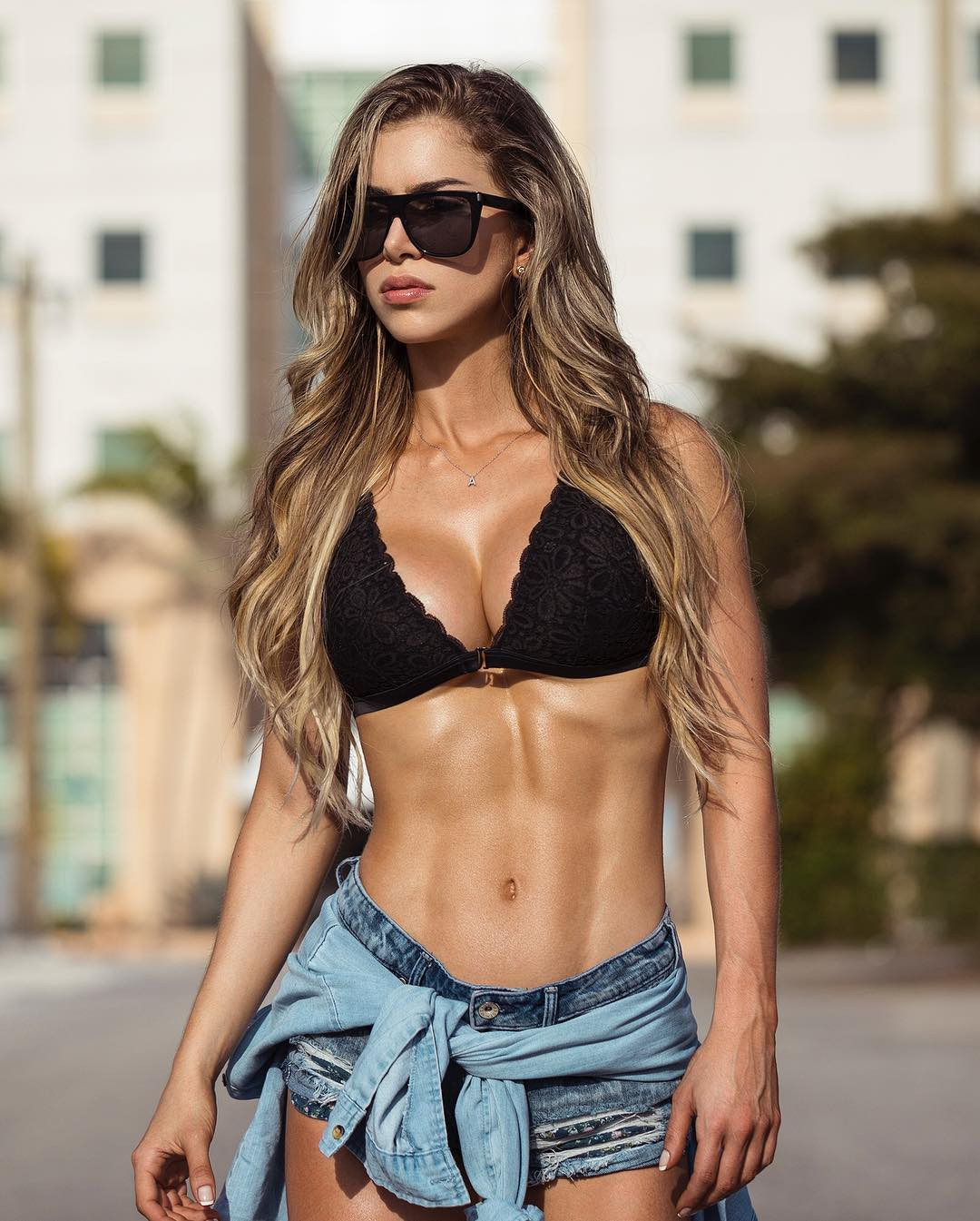 Fabulous style for latest anllela sagra, Physical fitness