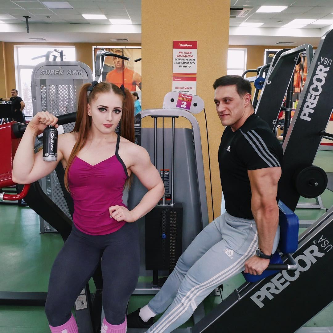 Julia Vins Bodybuilder, Julia Vins, Arnold Schwarzenegger