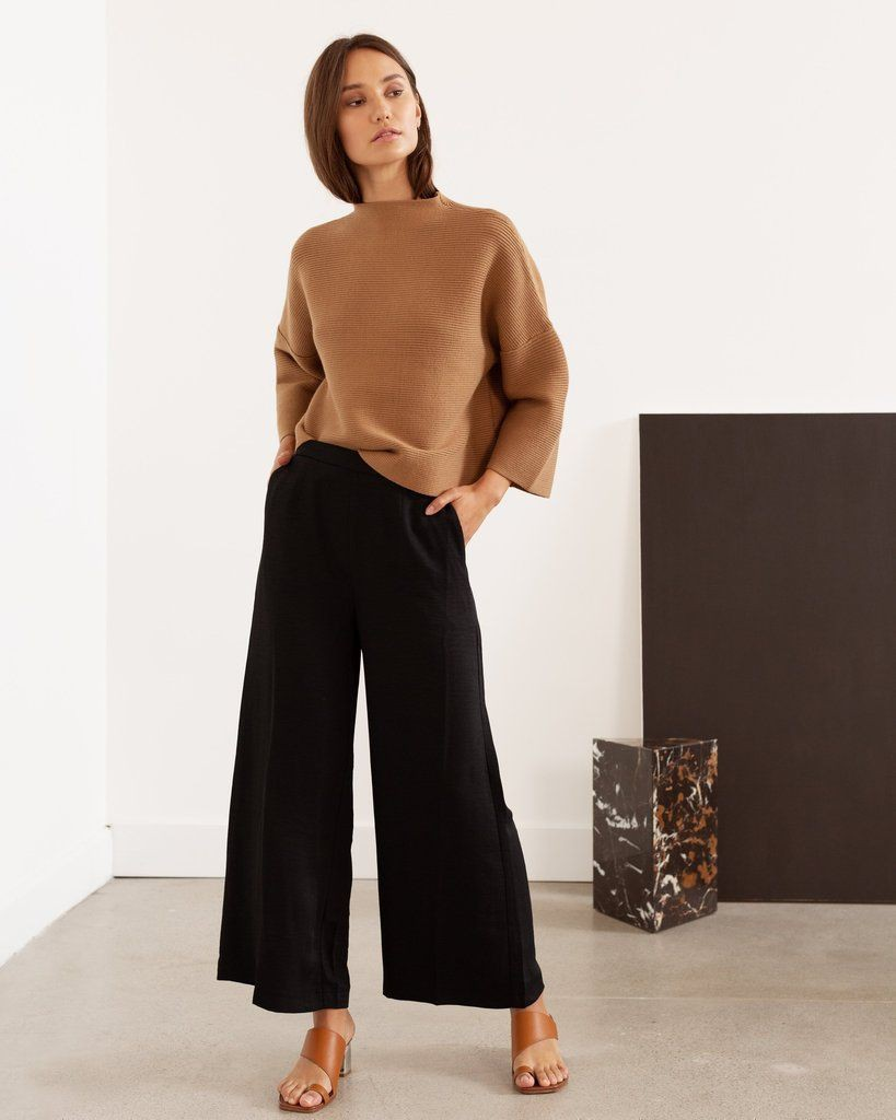 Casual Culottes Outfit For Girls