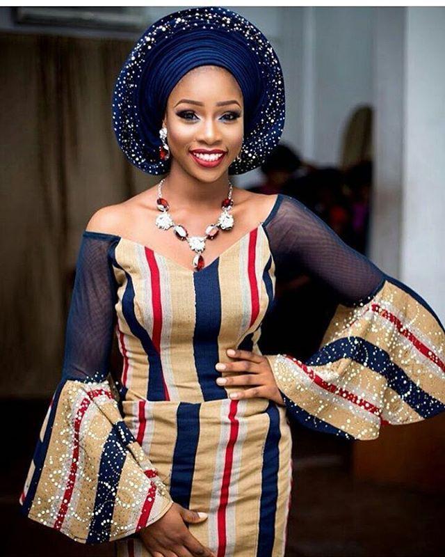 Best tips for aso oke dress, Aso Oke hat