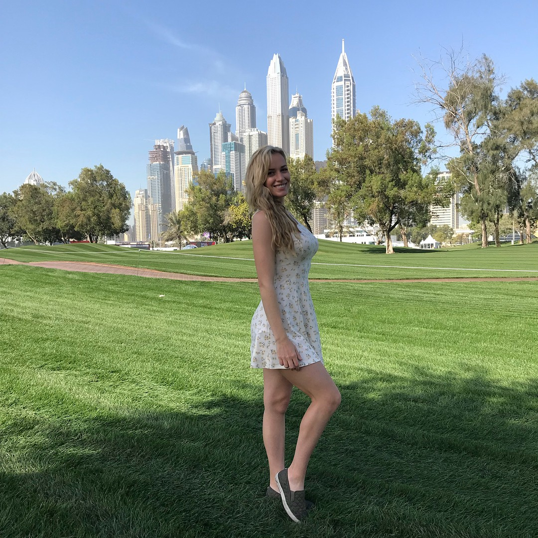Classy Paige Spiranac Instagram, Paige Spiranac, Desert Classic