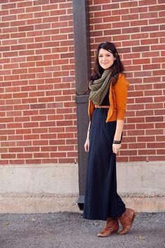 Looks com vestido longo inverno
