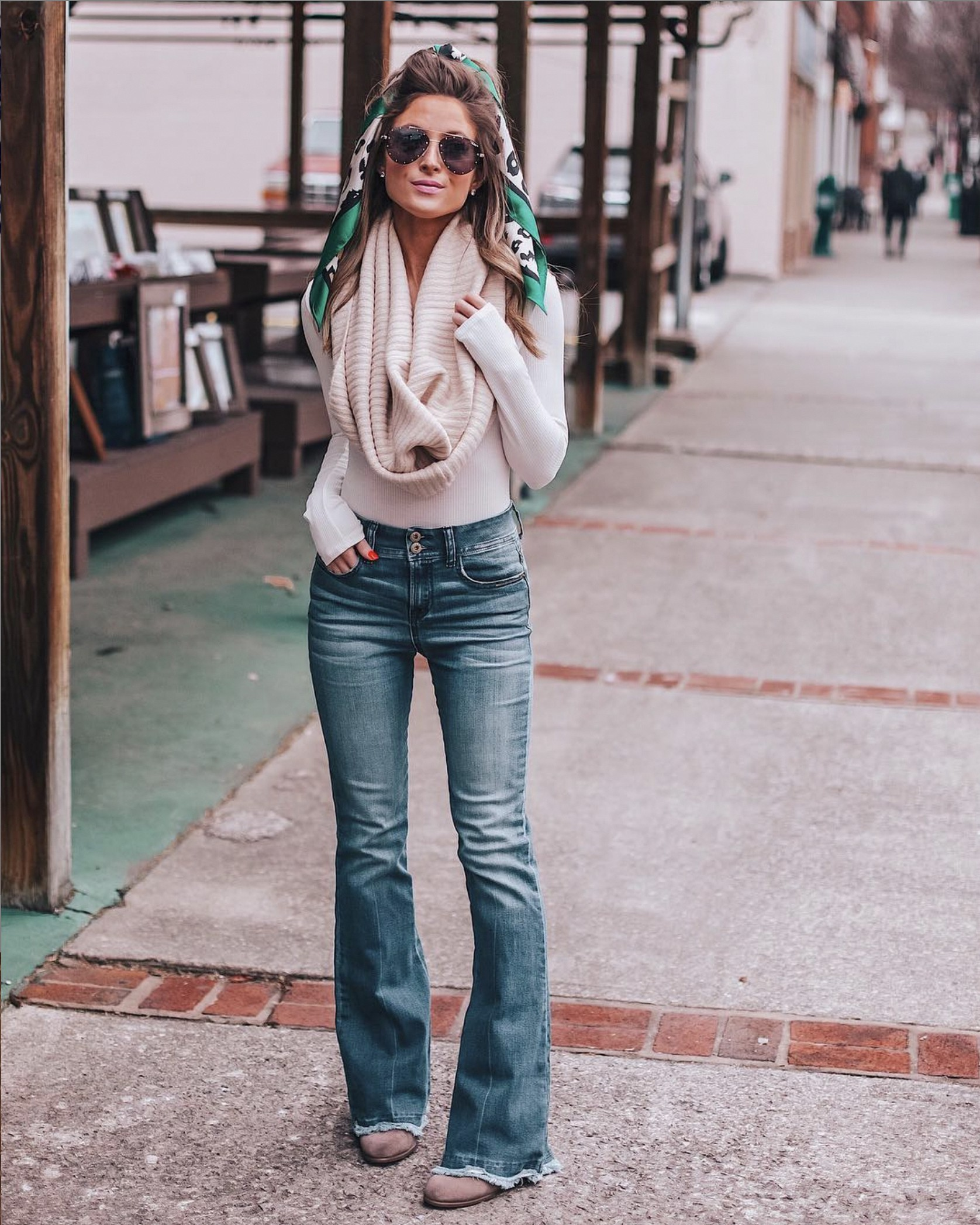 Outfits With Bootcut Jeans, Casual wear, Slim-fit pants
