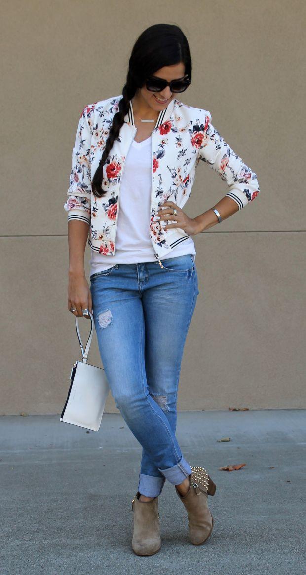Stylish Bomber Jacket Outfits Women's