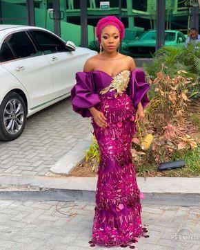 Aso ebi styles lace 2019