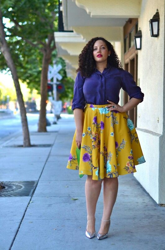 Most adorable images for fashion curvy girl, Plus-size clothing