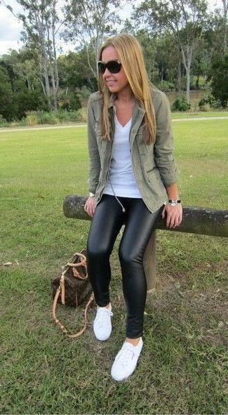 Casual wear Leather Pant Outfits For Women, Ripped jeans,
