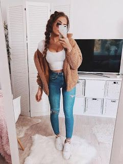 Jean jacket And Leggings Outfits Tumblr