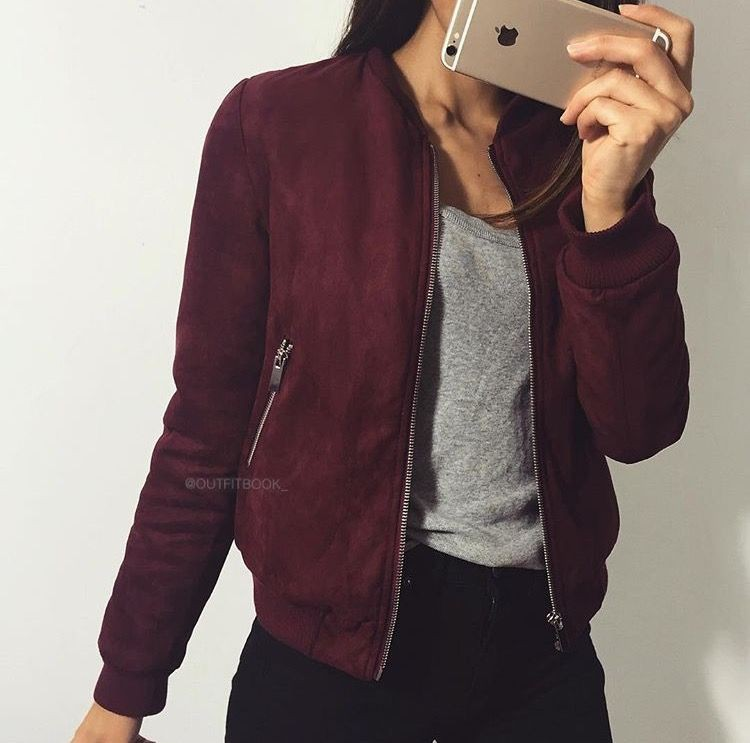 Trendy Bomber Jacket Outfits Womens