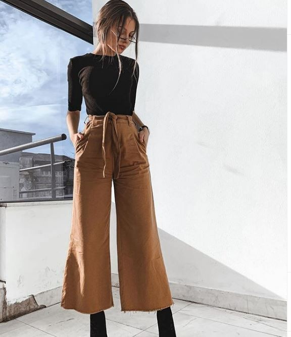Culottes Outfit Ideas, Summer house