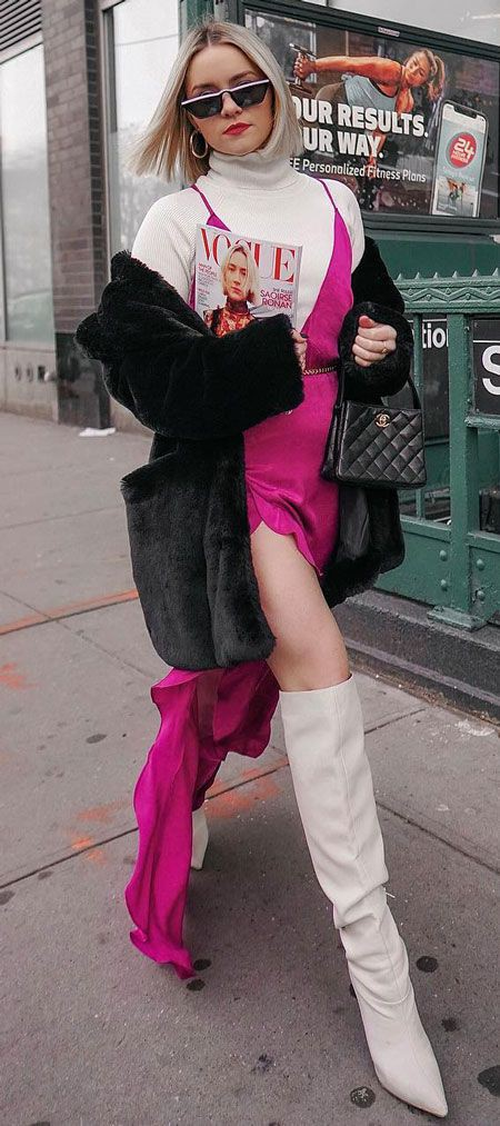 Street Style Outfits For Ladies, Polo neck, Casual wear