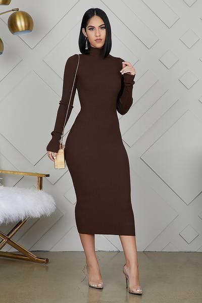 Purely fashionable fashion model, Little black dress