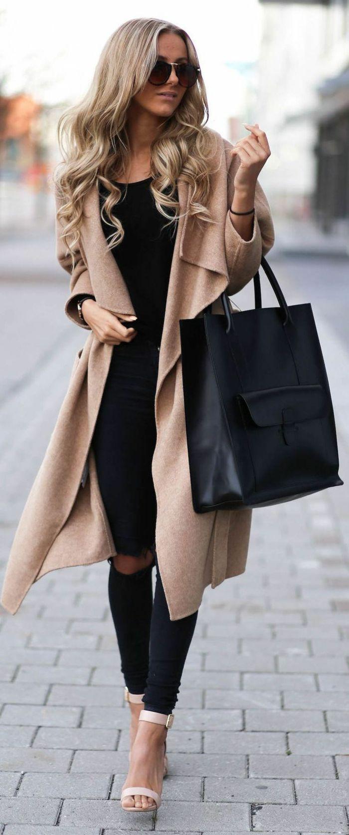 Tenue femme manteau long, Manteau Femme