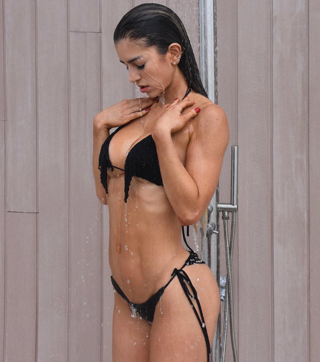 "Anllela Sagra Fitness Model, Svenjoyment Riostring ""Alex, Fetish model"
