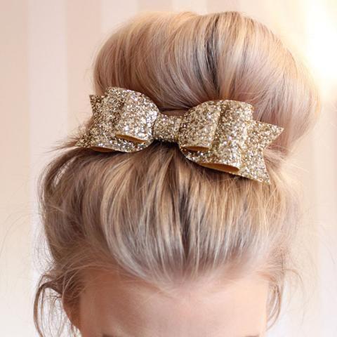 Bow tie hair clip, Hair tie