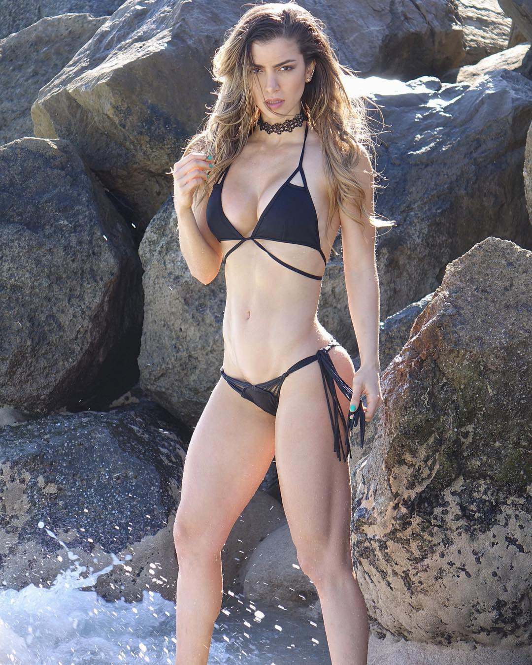 Choice of today anllela sagra, Physical fitness