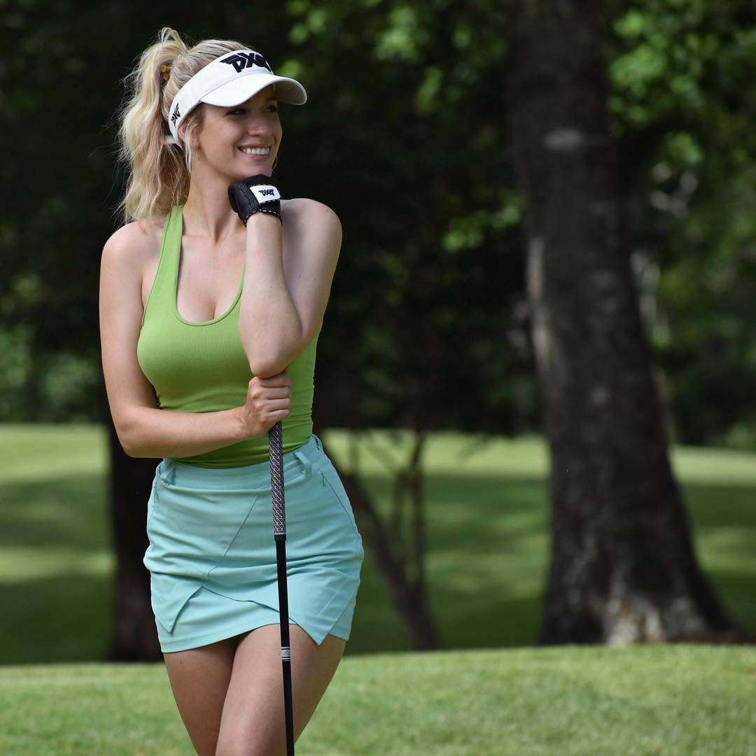 The latest and best paige spiranac, Professional golfer
