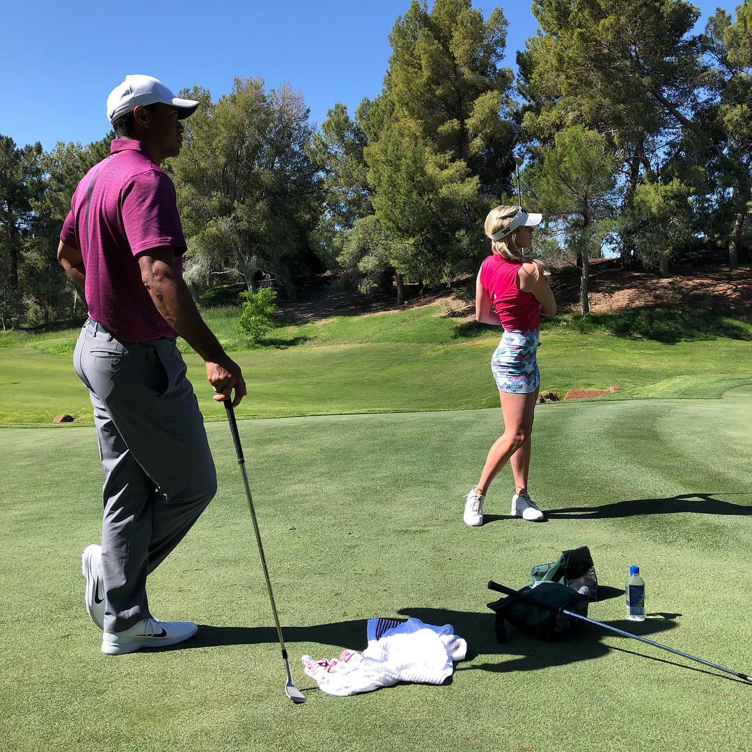 Paige Spiranac Instagram, Pitch and putt, Hickory golf