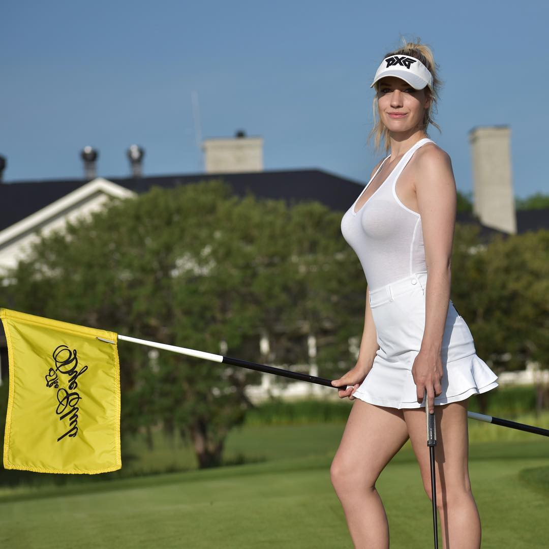 Paige spiranac golf channel