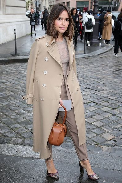 Street Style Outfits For Ladies, Miroslava Duma, Trench coat