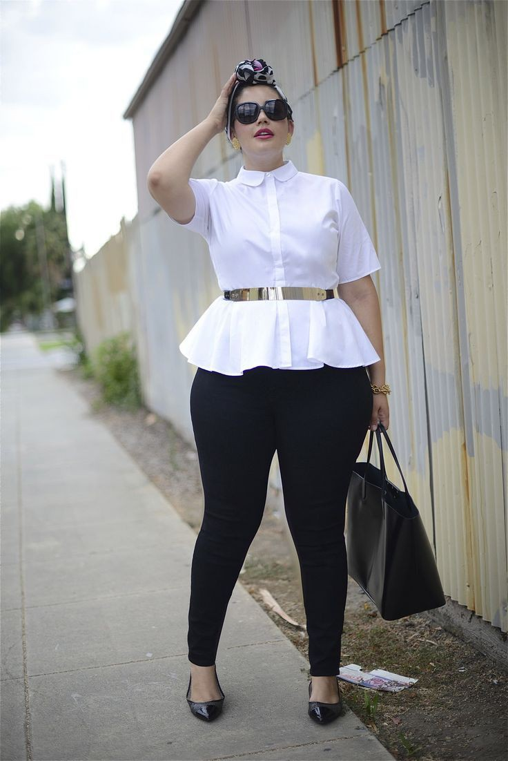 Blusa blanca mujer elegante, Casual wear