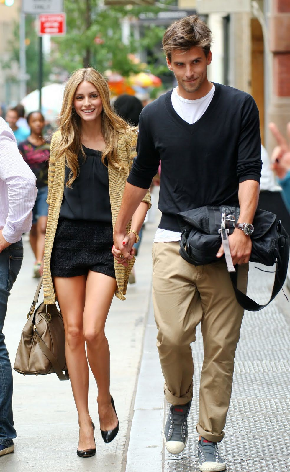 Summer outfit ideas stylish couples, Olivia Palermo
