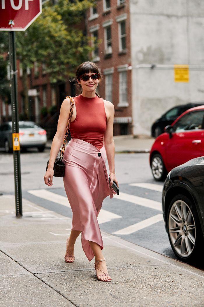 Zara strappy sandals street style