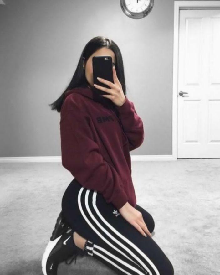 Girls favorite nike adidas fit, Casual wear