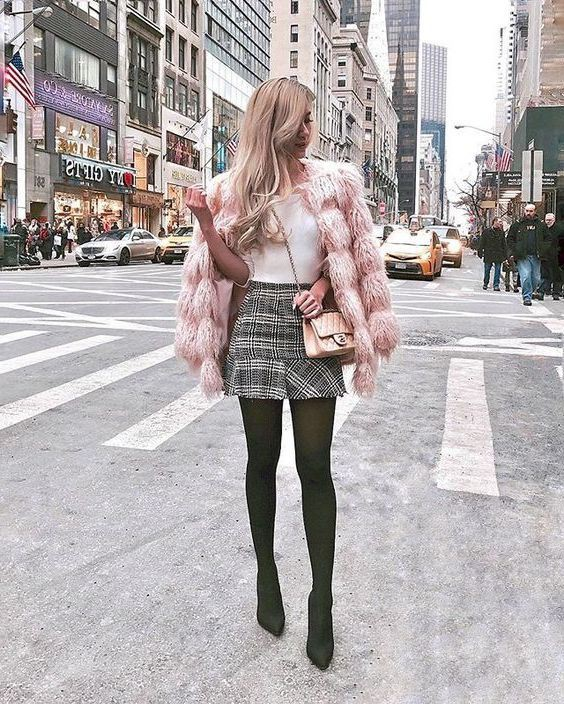 Stylish Outfits With Faux Fur Coats, Fur clothing