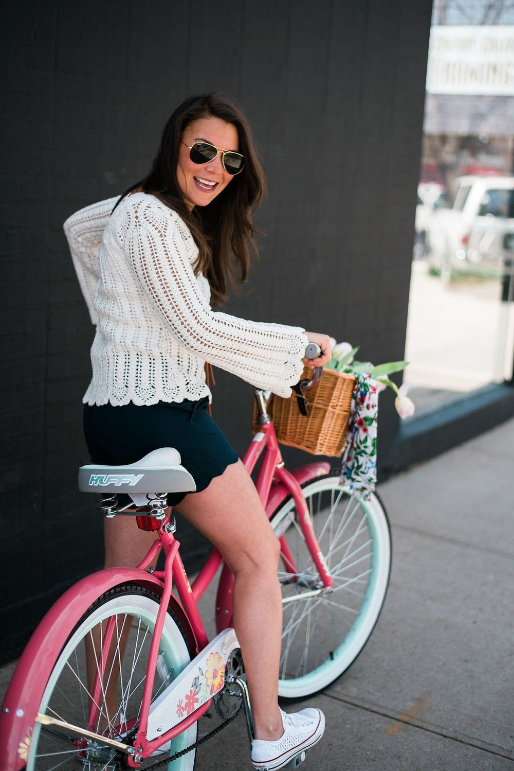 Outfits With Black Shorts, Denver Darling Boutique, Road bicycle