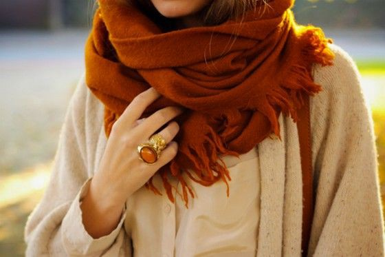 Inspirational outfits for scarf fall, Winter clothing