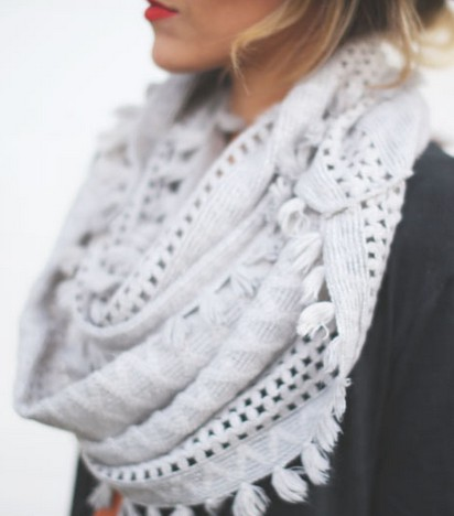Find out more about anthropologie infinity scarf, Fashion accessory