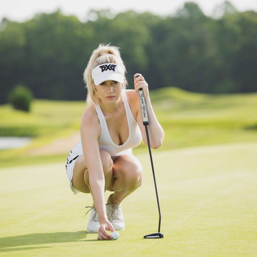 Cute girls most liked paige golfer, Professional golf tours