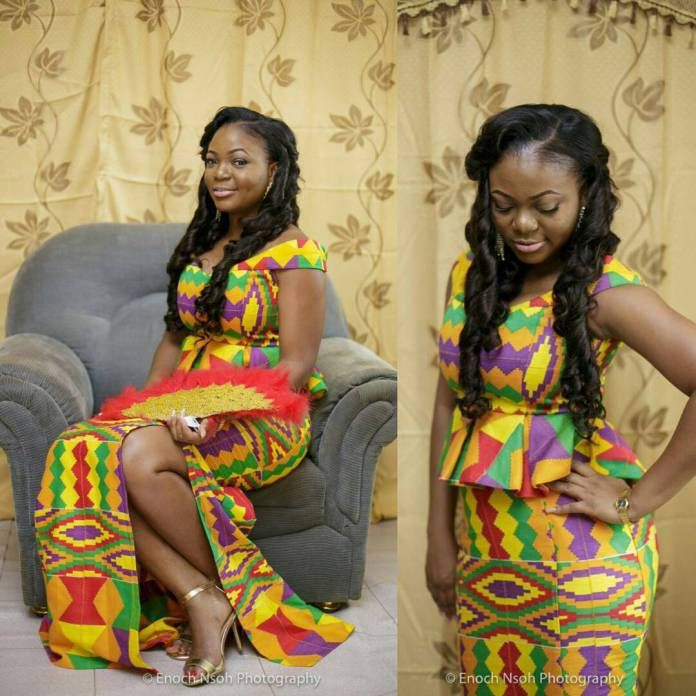 Looking really nice kente styles 2018, African wax prints