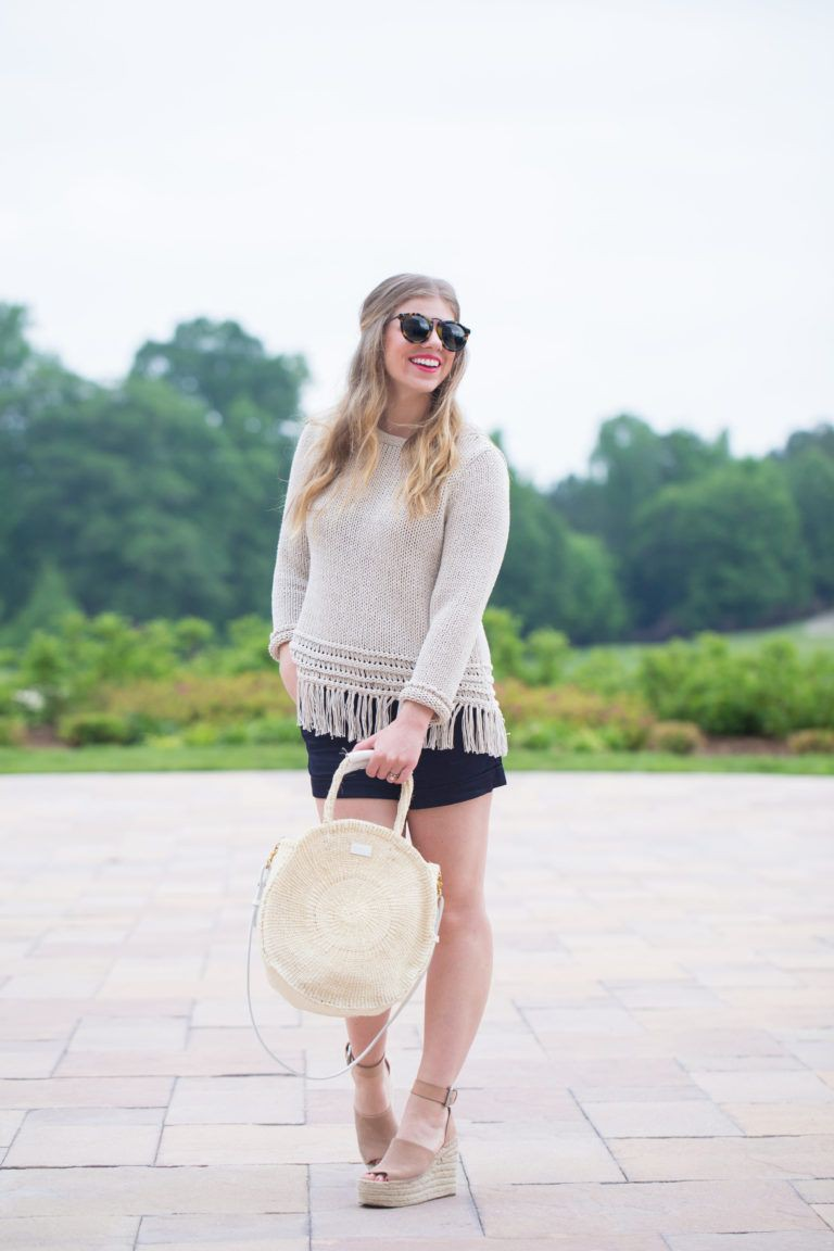 Outfits With Black Shorts Style