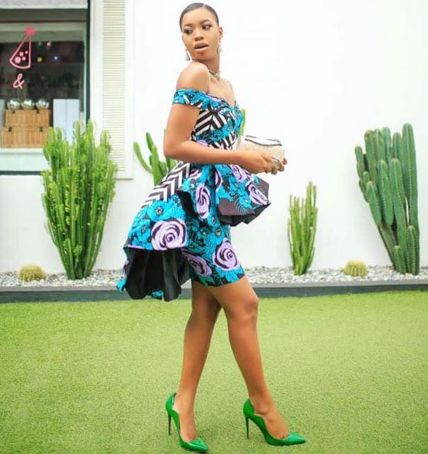 Ankara Gown Styles, African wax prints, High Waist Skirt