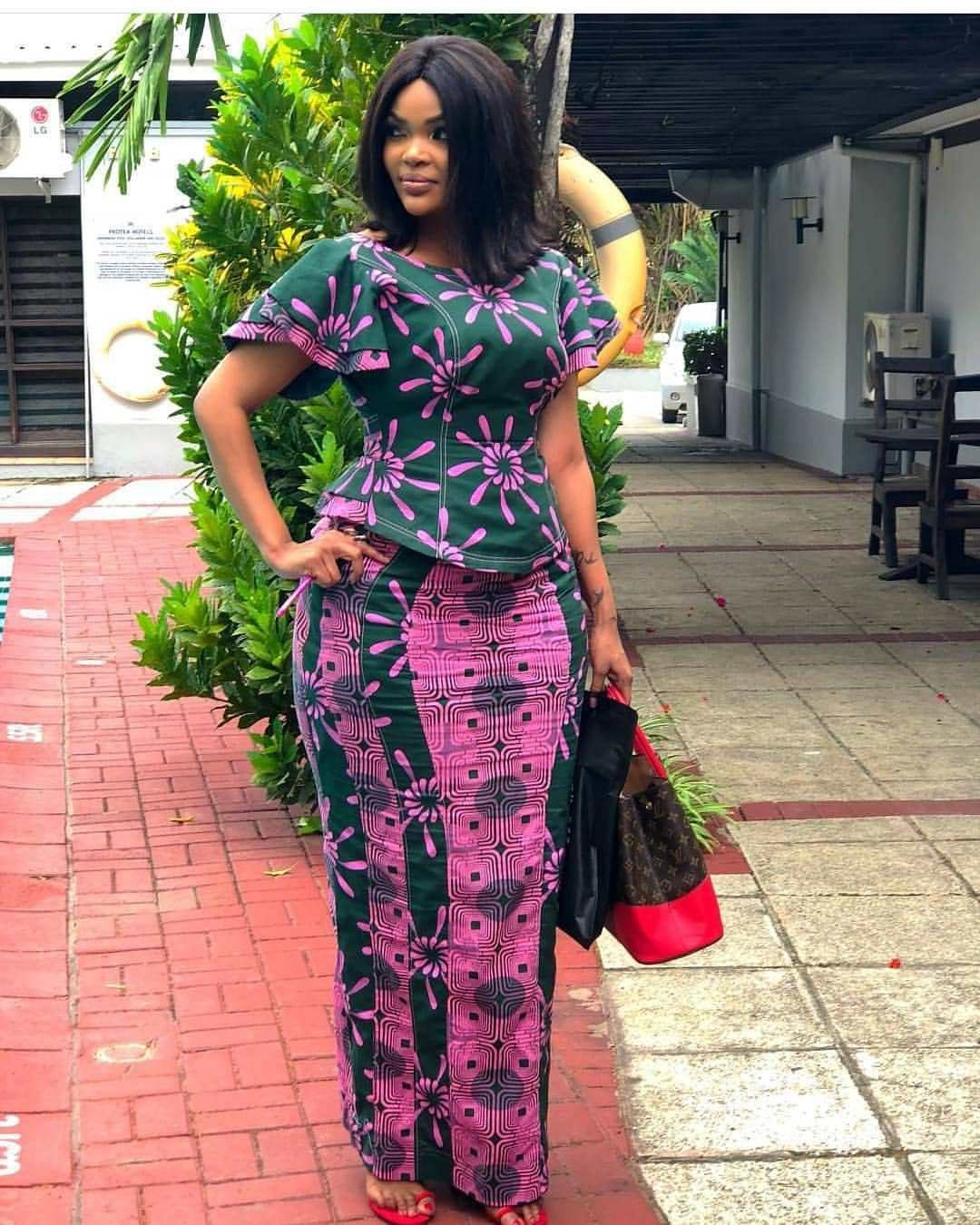 Latest ankara skirt and blouse 2019